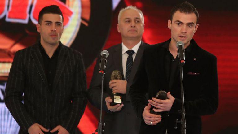 Наградиха братята Миневи и Пиргови с наградата в памет на Трифон Иванов