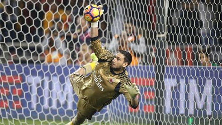 Усилени тренировки за Джанлуиджи Донарума от Милан