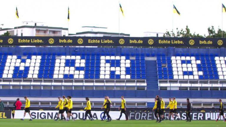 Ето как протичат тренировките на Дортмунд в Марбея