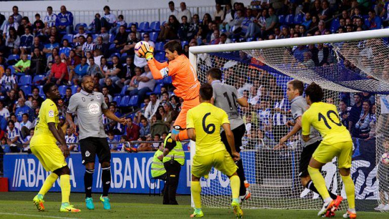 Депортиво Ла Коруня - Виляреал 0:0