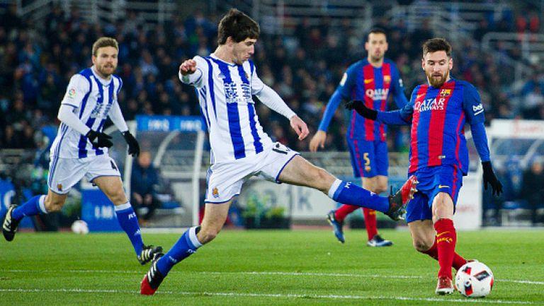 Реал Сосиедад - Барселона 0:1