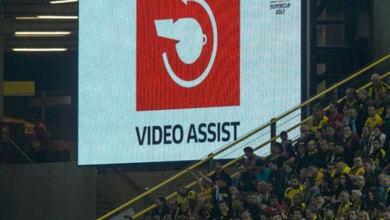 Гаф с новата технология при първия гол на Байерн