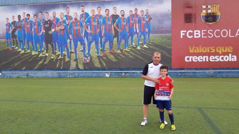 Българче от Campus Barcelona започва тренировки в училище на Барса