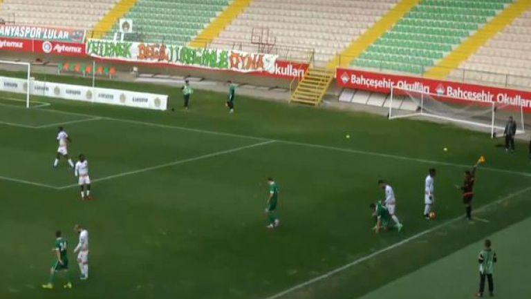 Разправия между футболисти на Пирин и Аланияспор по време на проверката