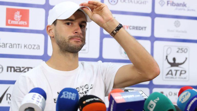 Цялата пресконференция на Григор Димитров преди старта на турнира в София
