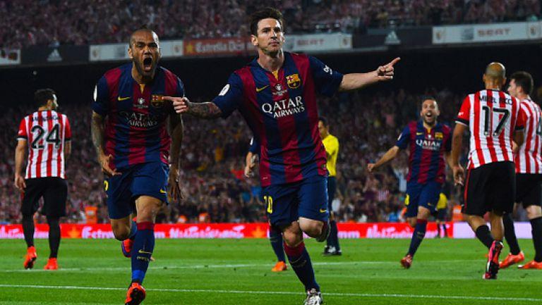 Барселона - Атлетик Билбао 3:0