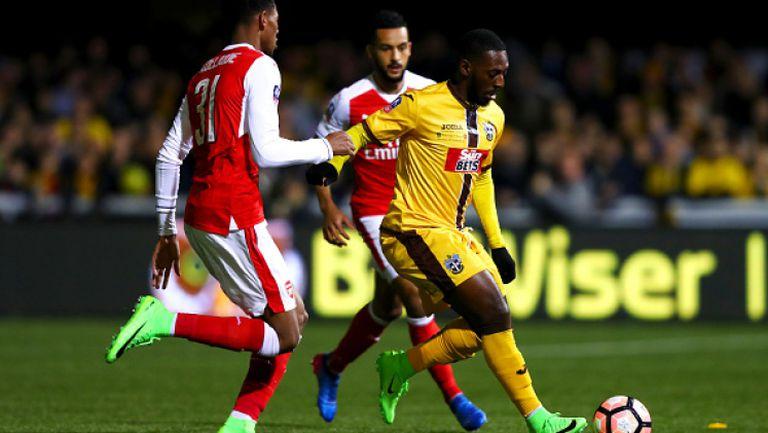 Сътън Юнайтед - Арсенал 0:2