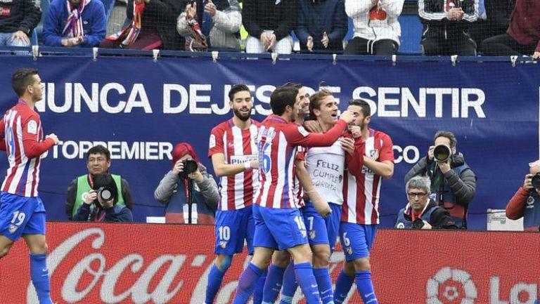 Атлетико Мадрид - Валенсия 3:0