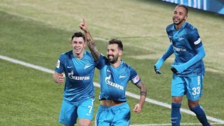 Зенит - Арсенал (Тула) 2:0
