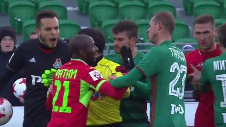 Уфа - Локомотив (Москва) 0:1