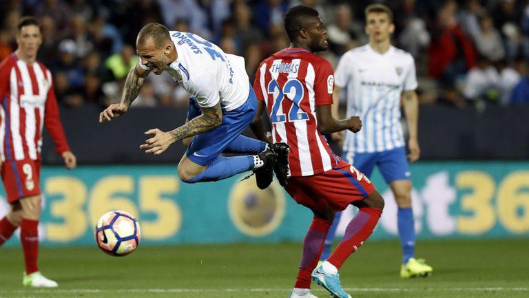 Малага - Атлетико Мадрид 0:2