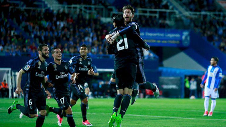 Леганес - Реал Мадрид 2:4