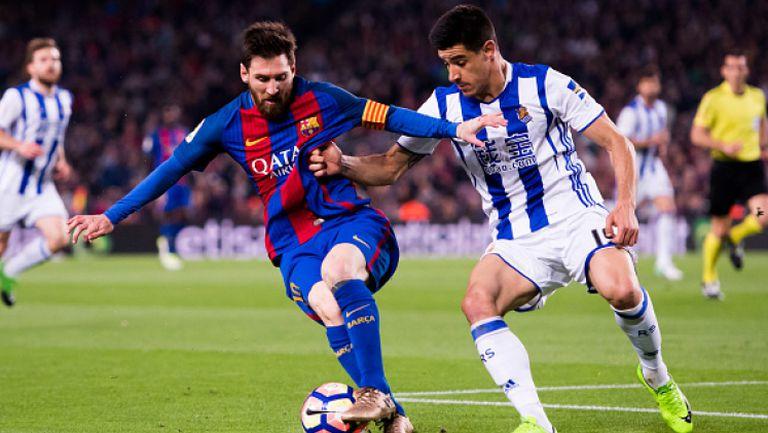 Барселона - Реал Сосиедад 3:2
