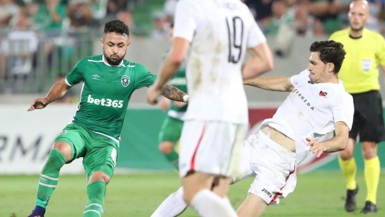 Турчин спести 3 червени картона, но Лудогорец отново е в групите на Лига Европа (видео)