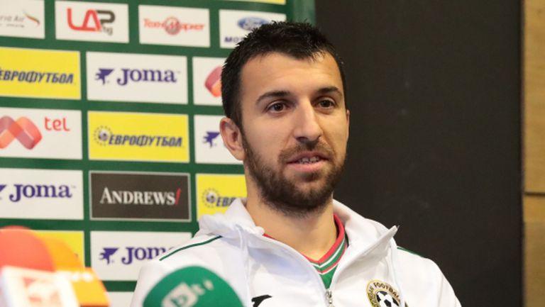 Капитанът на България обясни ексклузивно защо според него не е извикан в националния тим