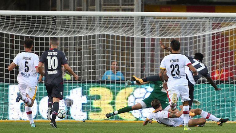 Болоня с драматична победа срещу Беневенто