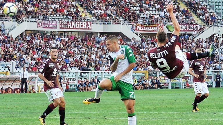Страхотен гол на Белоти поведе Торино към гръмка победа (видео)