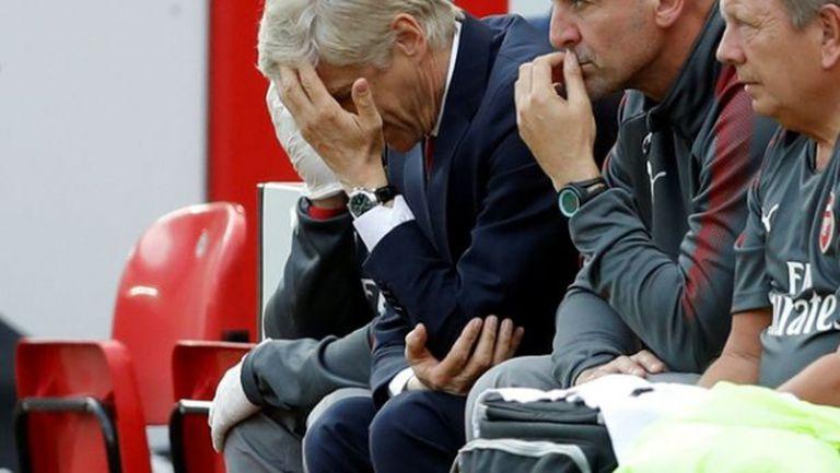 Примирен, безнадежден и безидеен – това е Арсенал днес