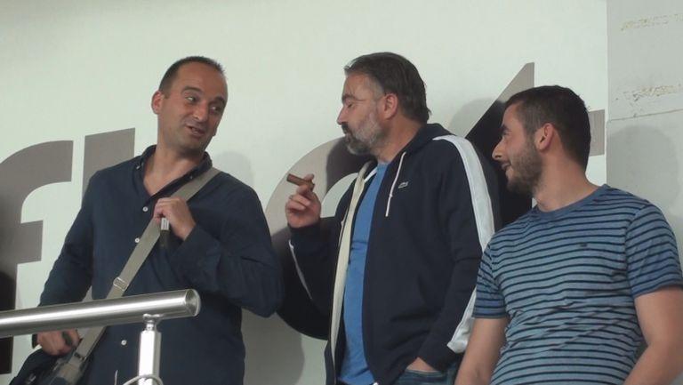 Зума, Хубчев и Ясен Петров на Локо - Левски