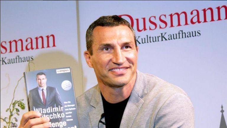 Владимир Кличко издаде книга