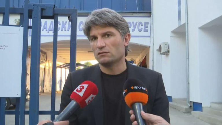 Ивайло Петков: Заслужихме си място в топ 6 на Първа лига