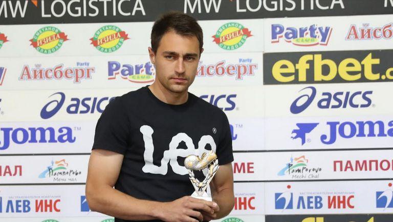 Васил Шопов е играч №1 на 32-ри кръг в Първа Лига