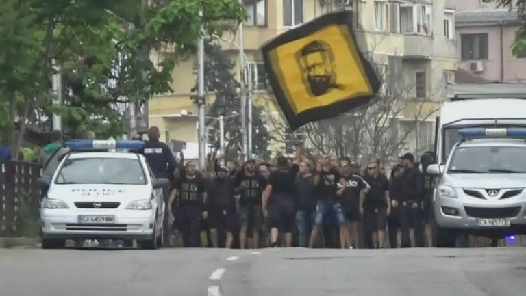 Феновете на Ботев пристигнаха за финала за Купата