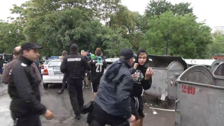 Полицията предотврати бой между фенове на Лудогорец и Ботев (Пловдив)