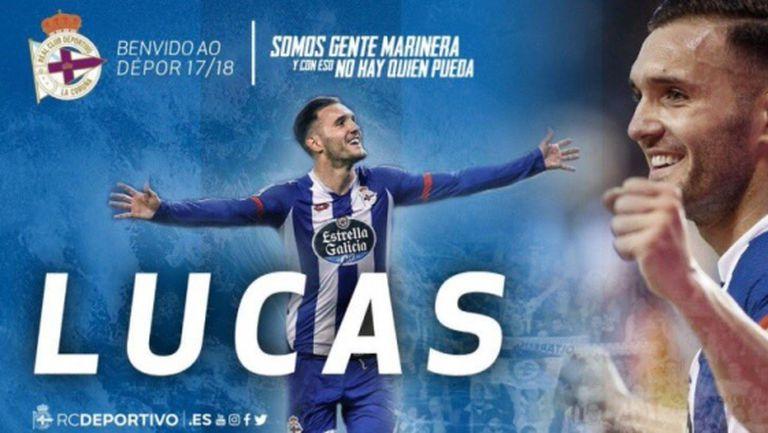Арсенал върна Лукас Перес на Депортиво Ла Коруня