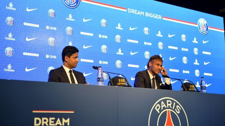 УЕФА се захвана с ПСЖ заради космическите трансфери