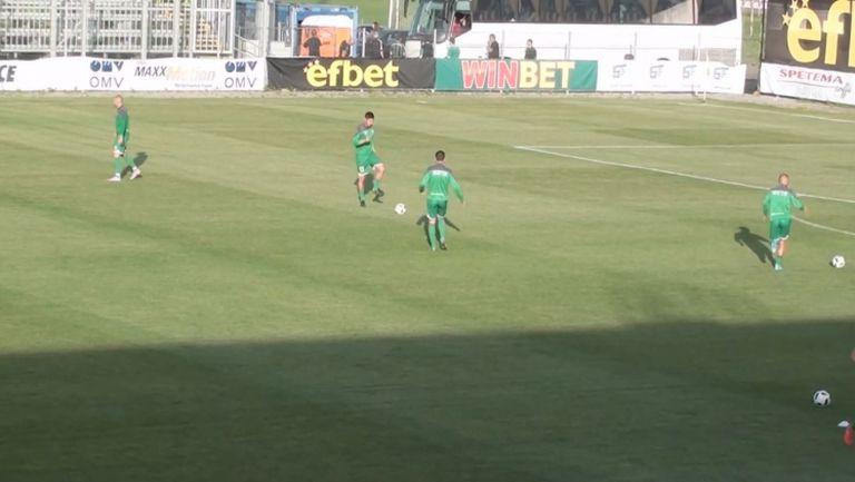 Нефтохимик и Витоша загряха преди баража за Първа лига
