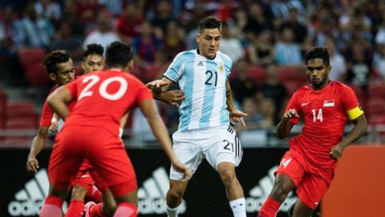 Сингапур - Аржентина 0:6