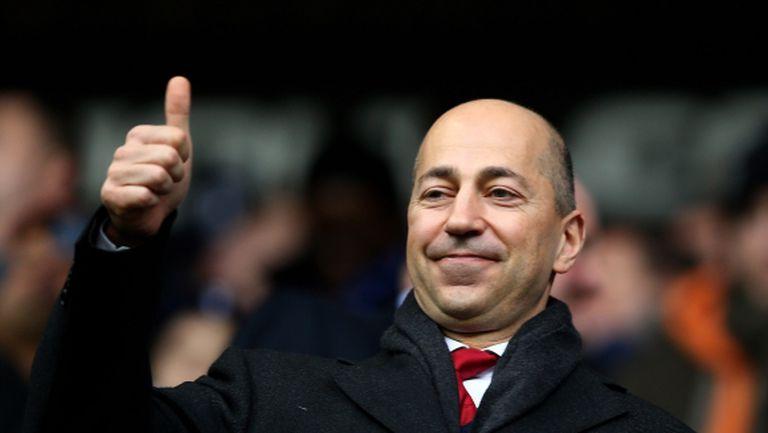 Арсенал се представи успешно на пазара, твърди шеф на клуба