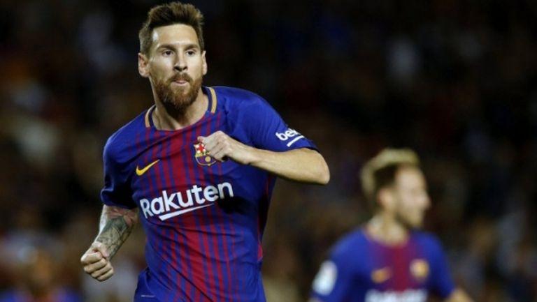 Барселона се развихри с 5:0 в каталунското дерби, Меси с хеттрик (видео + галерия)