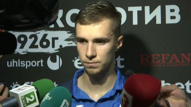 Вутов: Няма напрежение в съблекалнята, няма криза