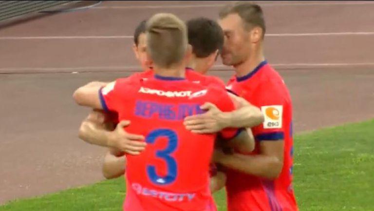 АЕК Атина - ЦСКА (Москва) 0:2