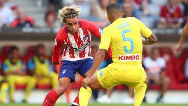 Атлетико Мадрид - Наполи 2:1