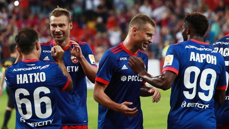ЦСКА (Москва) - АЕК Атина 1:0
