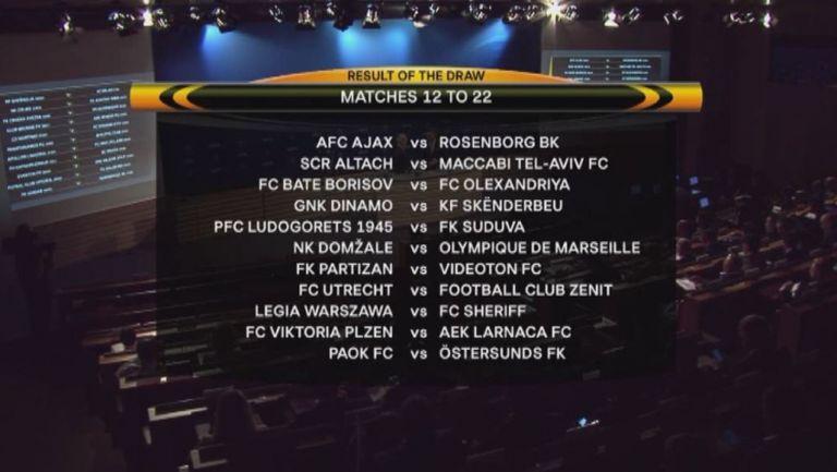 Лудогорец срещу лесен противник в плейофния кръг на Лига Европа