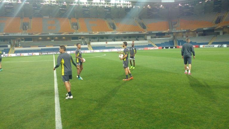 """Лудогорец проведе официалната си тренировка на стадион """"Фатих Терим"""""""