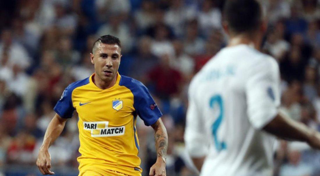 Смешно е как Реал и Барса се оплакват от съдиите, ядосва се играч на АПОЕЛ