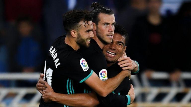 Реал Мадрид превзе Сан Себастиан без важни фигури (видео+галерия)