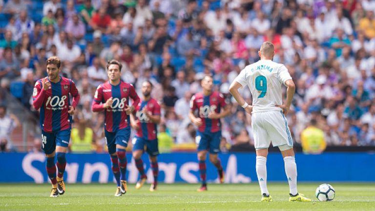Реал Мадрид - Леванте 1:1