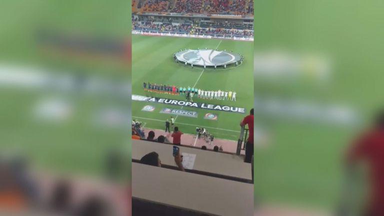Преди мача на Лудогорец в Истанбул