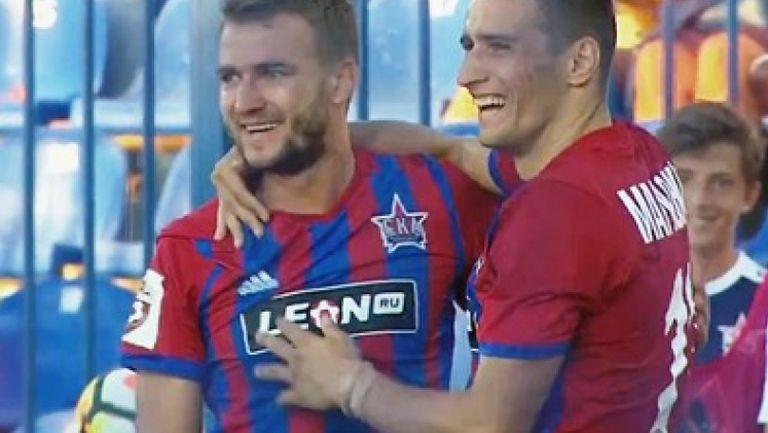 Венци Христов спаси отбора си от загуба с блестящ гол