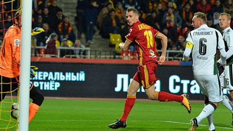 Арсенал (Тула) - Краснодар 1:0