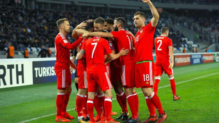 Грузия - Уелс 0:1