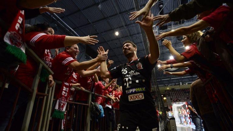 Веспрем изтръгна победата от Фленсбург след обрат у дома (видео)