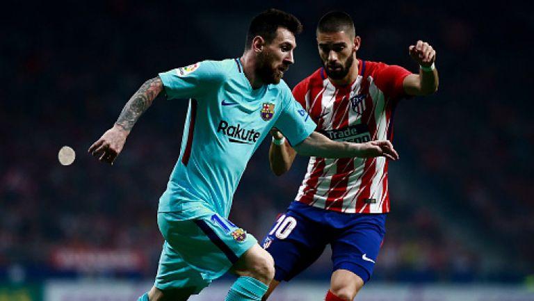 Атлетико Мадрид - Барселона 1:1