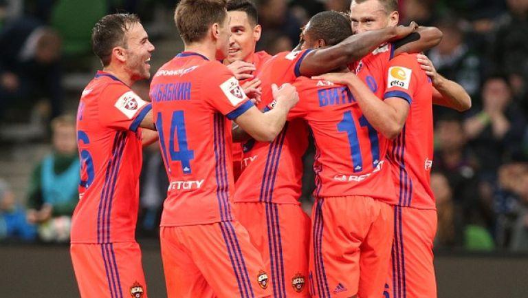 ЦСКА (Москва) с минимален успех над Краснодар като гост